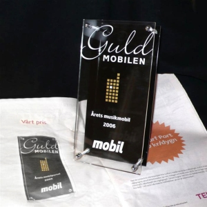 Guldmobilen, priset på Mobilgalan.