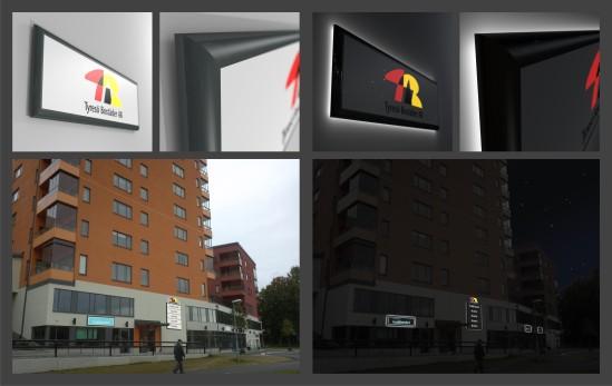 Tyresö_bostäder_skyltar_skyltkoncept_clarex