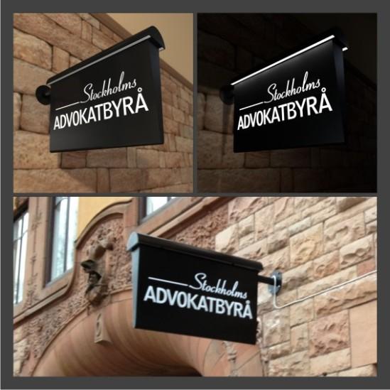Stockholms_avdokatbyra_diodskylt_skyltar_clarex