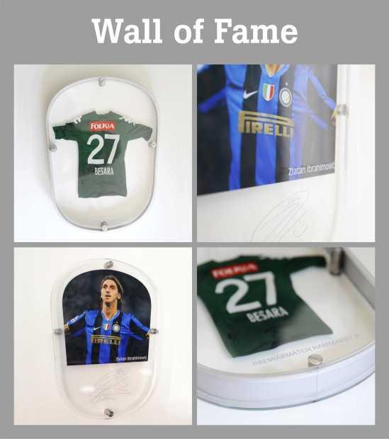 tele2_clarex_skyltar_wall of fame_akrylskyltar_profilbokstäver