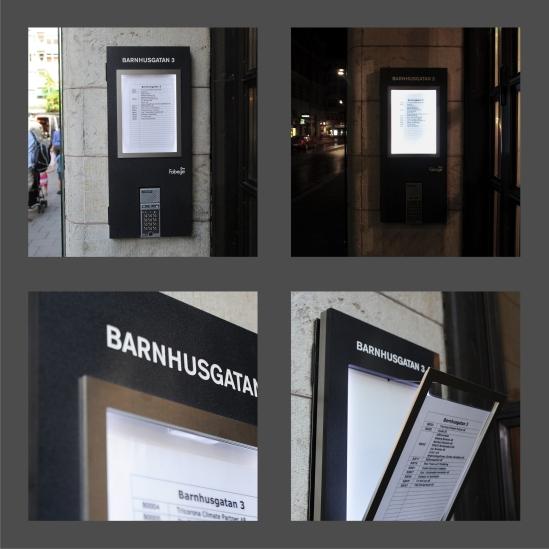 Clarex_skyltar_diodskylt_skyltkoncept_skyltar i stockholm_infoskylt_informationsskylt_ljusskylt_skyltdesign_fastghetsregister