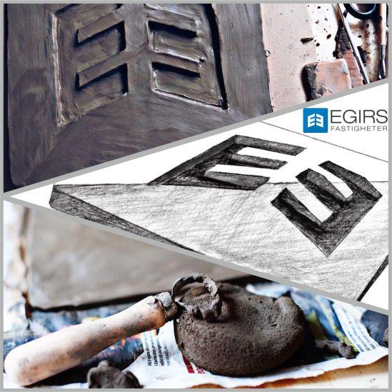 Blogg - Egirs_Fastigheter Fastighetsskylt Gjuten_Skylt Fasadskyltning aluminium_skylt blankpolerad_skylt entré_skylt hus_skylt WordPress 2
