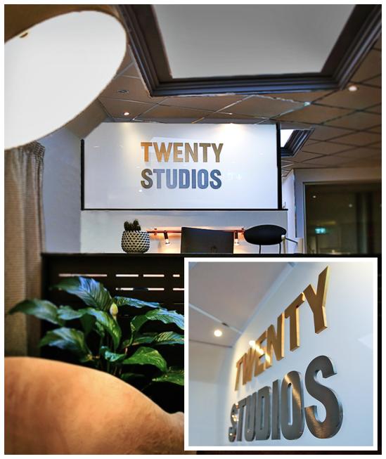 Twenty_Studios - Interiör_skylt bokstäver i guld & silver titanlegerat_ rostfritt_stål - från Clarex